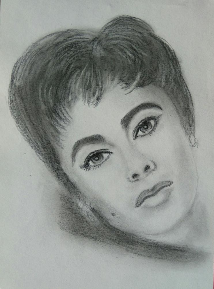 Elizabeth Taylor by paulb